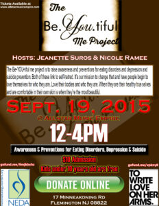 The Be.YOU.tiful Me Project Sept 19 2015
